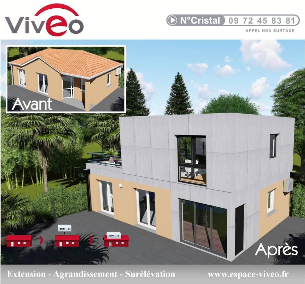 Devis Extension Maison à Douai ▷ Agrandissement Bois, Acier, Parpaing